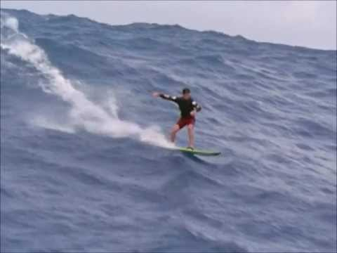 Surfing the biggest wave ever - Mike Parsons