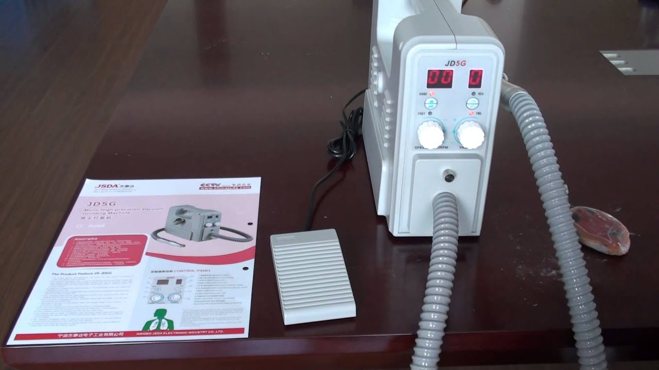 Nail Drill With Vacuum System 5g