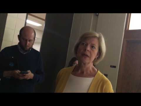 Tammy Baldwin weighs in on Clinton email controversy