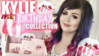 Kylie Cosmetics Birthday Collection | Lip Swatches