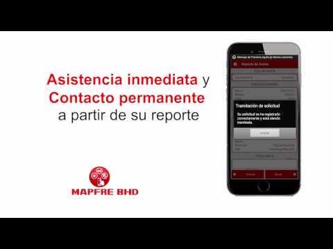 App de Asistencia Vial Mapfre BHD