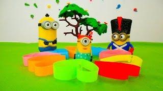 Детские игрушки МИНЬОНЫ и поделка из бумаги. Видео про игрушки из мультфильмов(Детские игрушки бывают разные- одни можно купить, а другие сделать своими руками. Самые простые это поделки..., 2016-08-03T04:07:28.000Z)