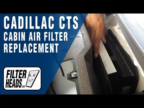 How to Replace Cabin Air Filter Cadillac CTS