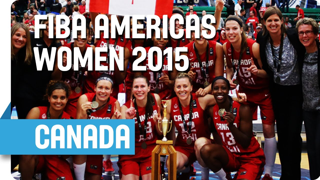 Canada Tournament Highlights - 2015 FIBA Americas Women's Championship