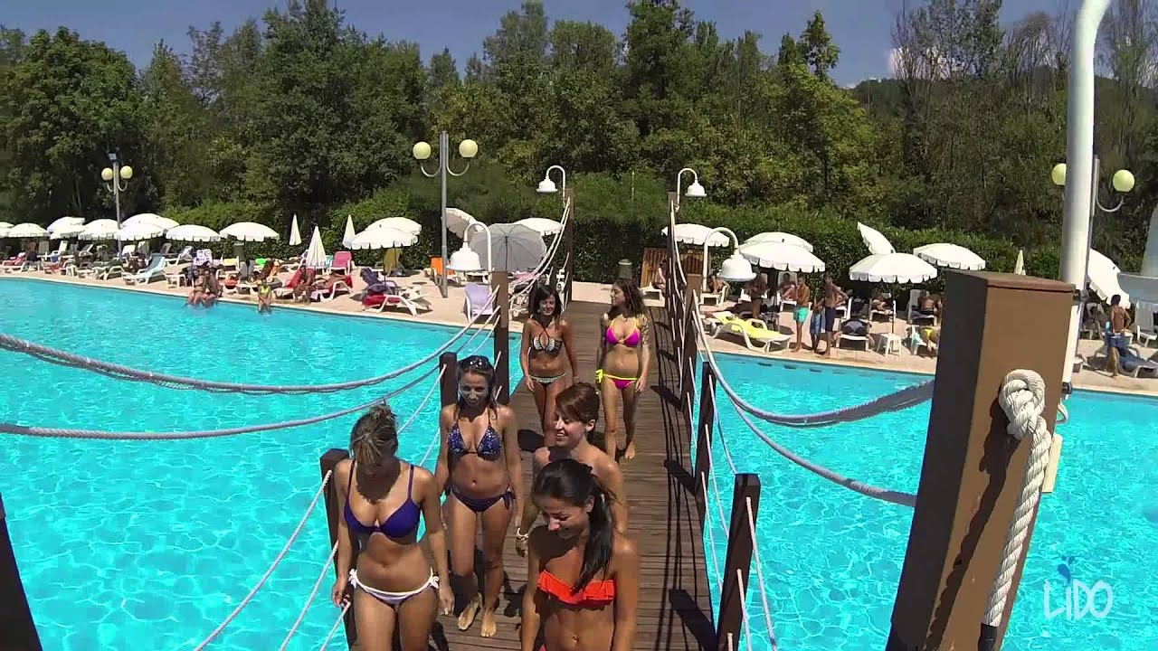 Piscina Lido Salice Terme  YouTube