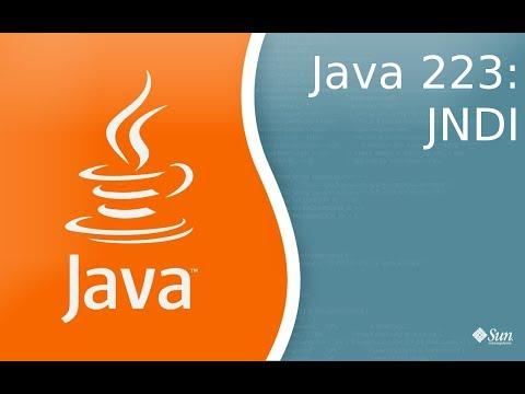 Урок Java 223: JNDI