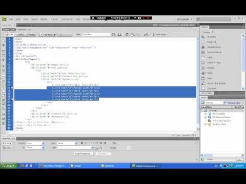 Joomla CSS Drop Down Menu - Lesson 03 - Arabic