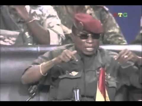 Le capitaine Moussa Dadis Camara, l'ancien préside...
