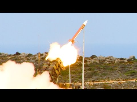 Patriot Missile Live Fire at NATO Missile Firing Installation