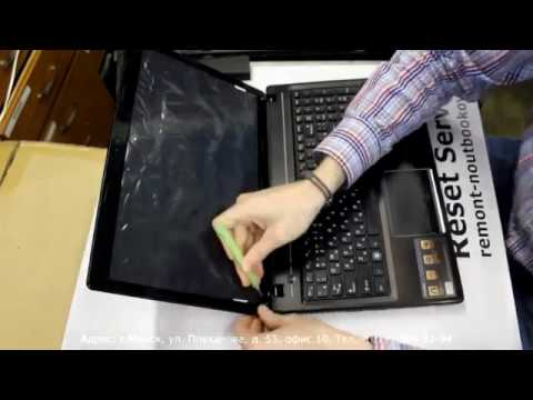 Dell Inspiron 7520 - чистка системы охлаждения ноутбука - YouTube