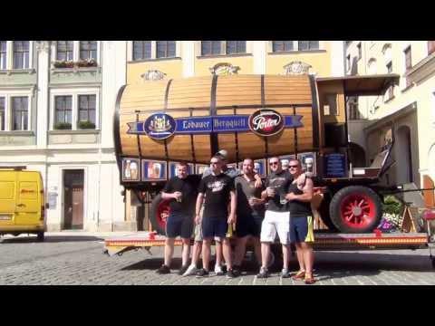 2. Bierwagen-Ziehen  Löbau 2013