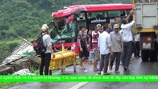 Tai nạn giao thông nghiêm trọng  tại xóm Chẹ xã Ân Nghĩa ngày 21/8/2019