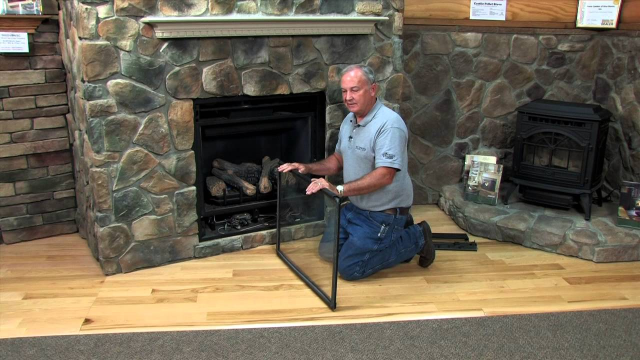 This video covers the removal of your direct vent fireplace sealed glass panel and the cleaning of the glass panel.