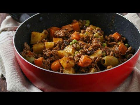 Filipino-style Picadillo