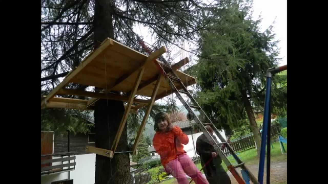 Costruzione casa sull 39 albero 1a parte youtube - Casa sull albero minecraft ...