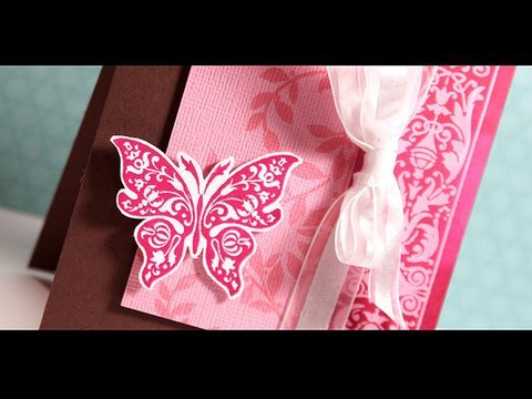 Finally Friday - Pink/Magenta Butterfly
