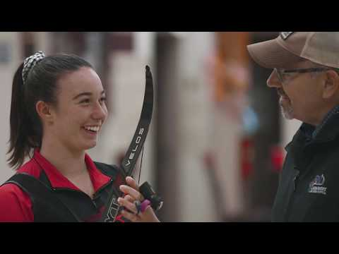 Hoyt XCEED Bow with Casey Kaufhold