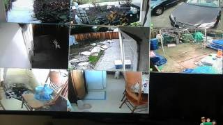 Zmodo Video Surveillance System Day And Night Test ZM-I8Q8-1T