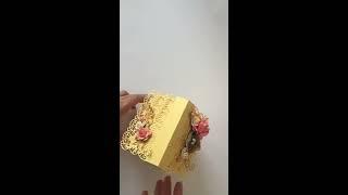 Волшебный свадебный домик для денежного подарка