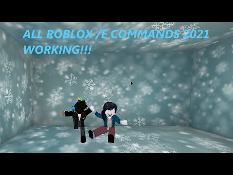 All Working ROBLOX /e Commands (2021)