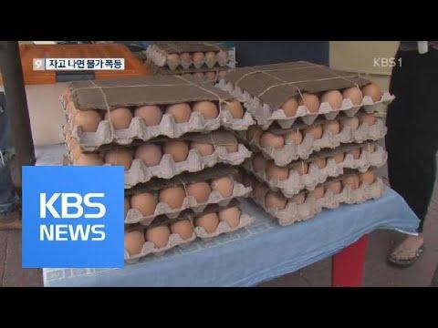 달걀 두 판 값이 월급…베네수엘라 물가 천정부지 / KBS뉴스(News)