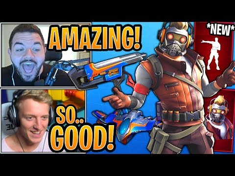 Streamers React to *NEW* Marvel Guardians of the Galaxy Set! - Fortnite Best Moments