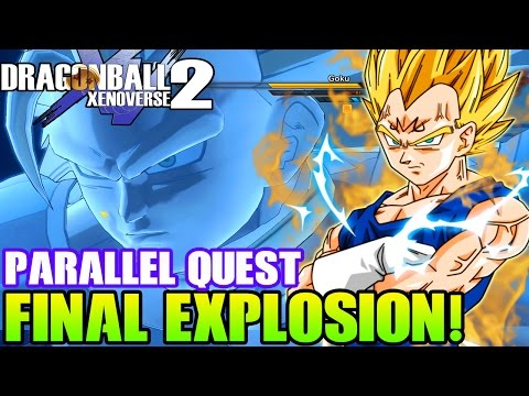 Dragon Ball Xenoverse 2 Gameplay - FINAL EXPLOSION! Super Saiyan Bargain Sale Parallel Quest