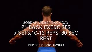 21 Back Variation Exercises For Back Day