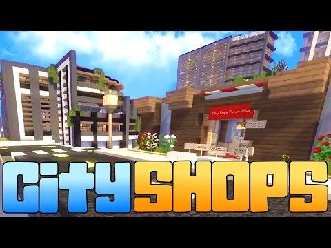 CITY SHOPS | Minecraft