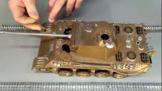 макет танка  из металла. Принимаем заказы. Scale model tank Panther Ausf A. Full metal. Scale1\22