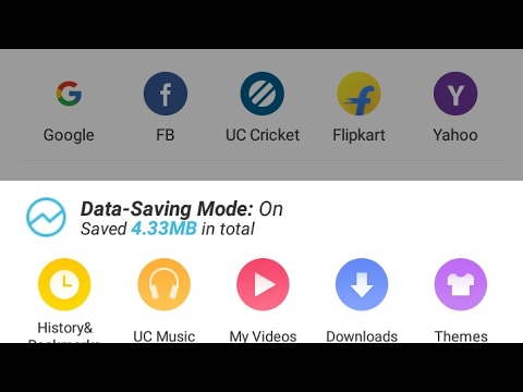 How to use uc browser and then delete search history, uc browser ko history delete kaise kare