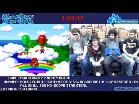 SGDQ 2013 - Mario Party 2 Big Plays Shy Guy Says
