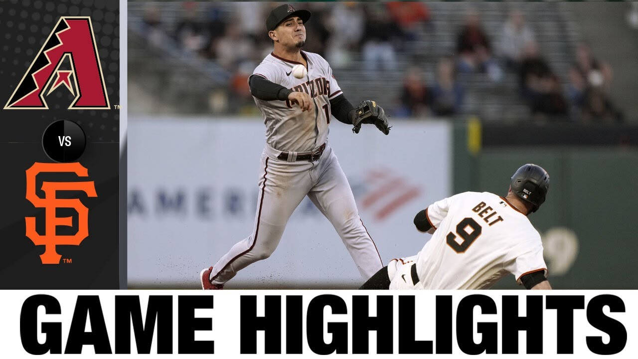 Download D-backs vs. Giants Game Highlights (6/15/21)   MLB Highlights