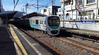西武30000系 30101F 西武柳沢駅通過 '20.01.19