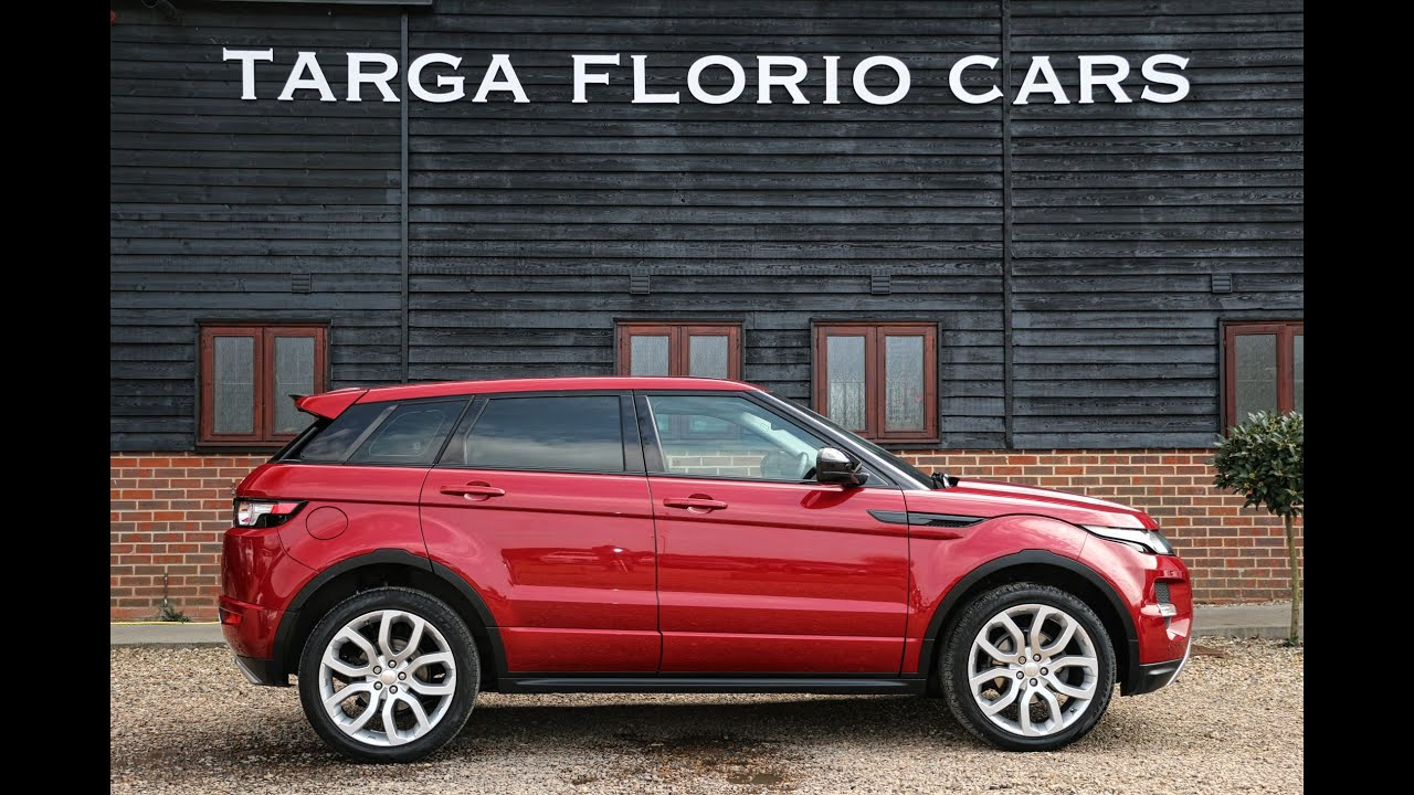 Range rover evoque sd4 dynamic 2 2 automatic in firenze - Range rover with red leather interior ...