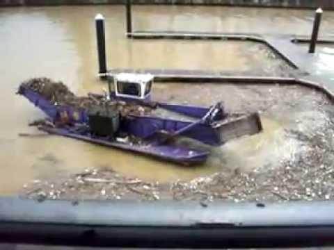TrashCat™ Trash Skimmer Cleans Baltimore Harbor