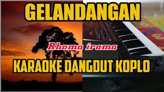 Download Gelandangan - karaoke (koplo)
