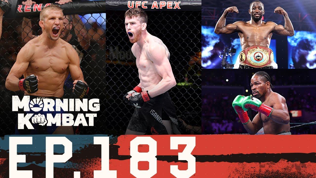 UFC Fight Night Sandhagen-Dillashaw Preview | BKFC 9 | Shobox Anniversary | Morning Kombat Ep 183