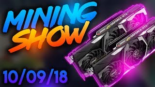 Daily gpu mining crypto show 10-9-2018