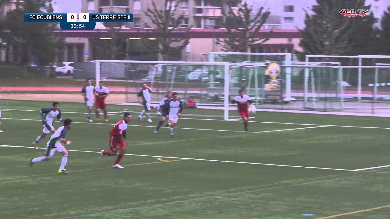 Amical : FC Ecublens - US Terre-Sainte II - YouTube
