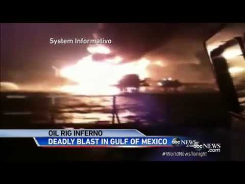 Oil Rig Explosion In Gulf Of Mexico Kills 4