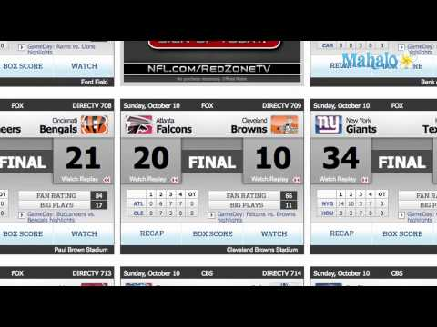 2010 NFL Sunday Football Week 5 Scores