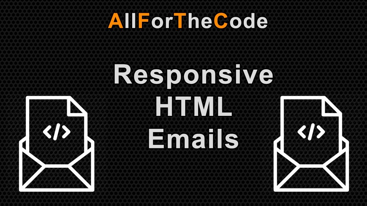Creating A Responsive Html Email Using Tables And Inline Css For