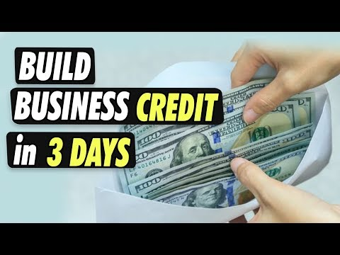 How To Build A Business Credit Line In 3 Days