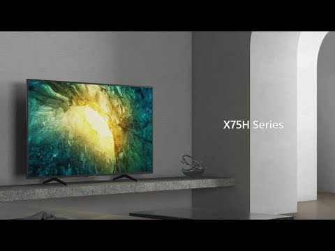 Sony - BRAVIA - X75H Series - 4K HDR TV