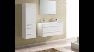 Kwadro Wall Mounted Bathroom Cabinet And Basin