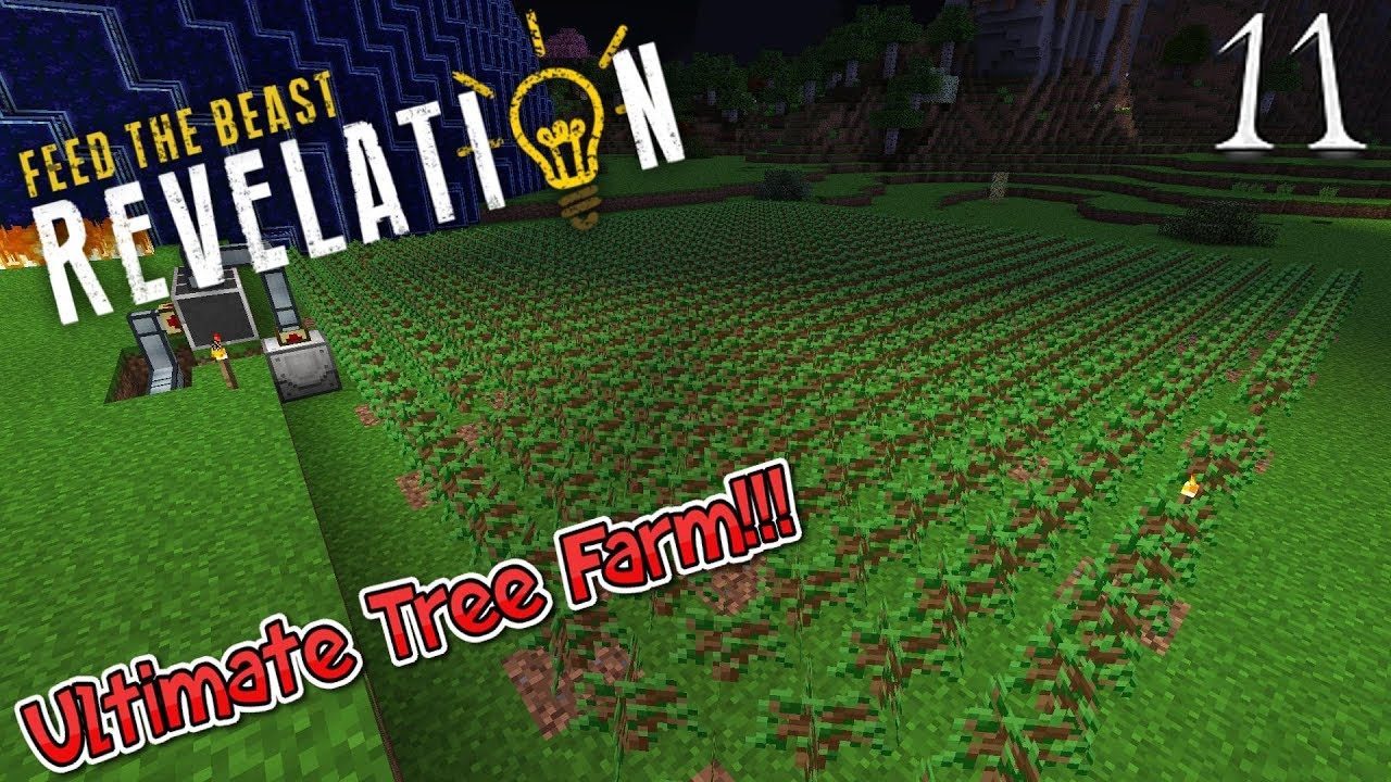 Lets Play Feed The Beast Revelation - Ultimate Tree Farm (11)