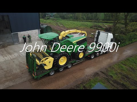 Derry contractor takes delivery of the first John Deere 9900i self-propelled forage harvester sold in Europe