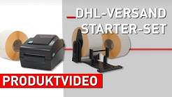 DHL Starter-Set mit Desktop-Drucker | Versandetiketten selber drucken [Produktvideo]