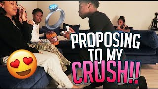 I Proposed To My Crush In Front Of My Family! (They wasn't having it)